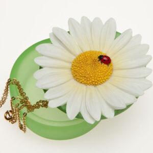 Ladybug Daisy Keepsake Box