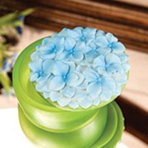 Blue Hydrangea Keepsake Box