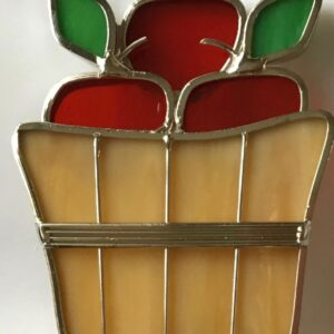 Apple Basket Suncatcher