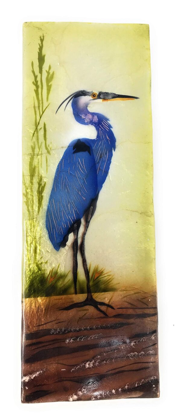 Blue Heron Capiz Long Box