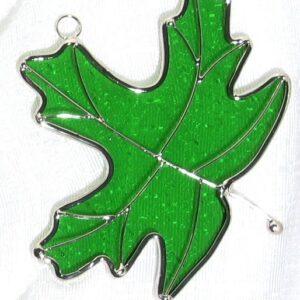 Maple Leaf Suncatcher - Green