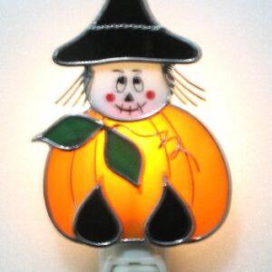 Pumpkin Witch Night Light