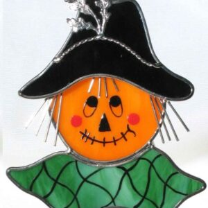 Scarecrow Head Suncatcher