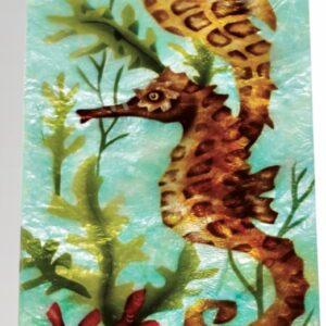 Seahorse Capiz Box