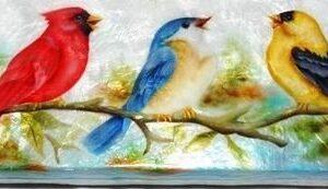 Songbirds Capiz Long Box